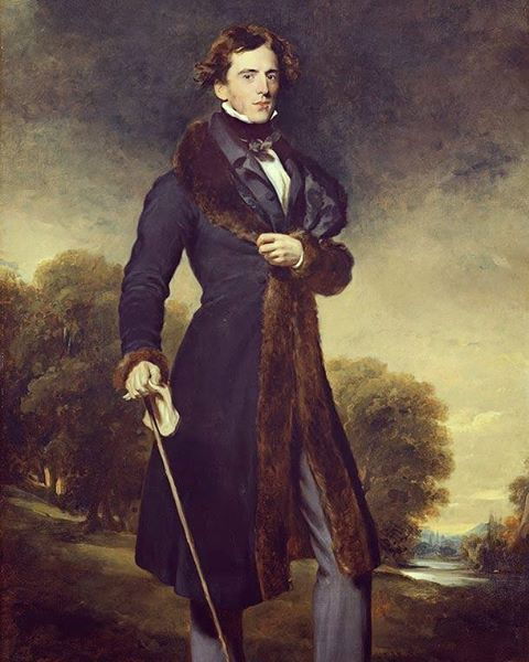 """""""Beware of endeavoring to become a gentleman in a hurry. One such attempt in ten thousand may succeed. These are fearful odds"""". -Benjamin Disraeli (Portrait of David Lyon by Thomas Lawrence; ca. 1825). #painting #oilpainting #oiloncanvas #art #artist #artwork #WorkofArt #arts #arte #instaart #instaartist #portrait #dandy #dandies #fashion  #handsome #gentleman #dapper #instastyle #welldressed #dashing #taste #class #style #wealth #chic #posh"""