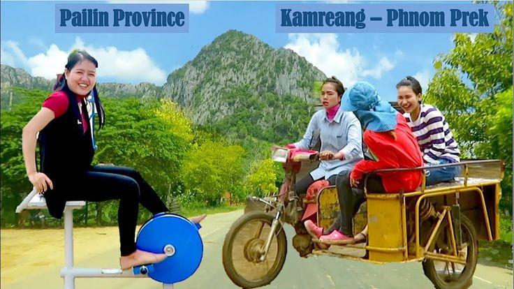 Travel from Pailin to Battambang Province in Cambodia | Krong Pailin, Ka...
