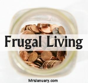 Over 50 Frugal Living Articles to Help You Save Money via MrsJanuary.com #frugal #savemoney