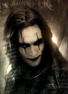 Eric Draven (Brandon Lee) in The Crow - Died way to young & tragically!!!!!