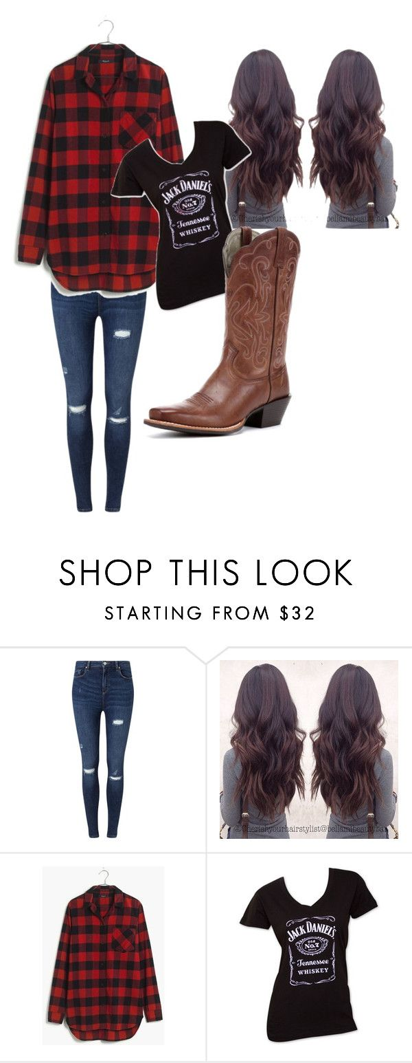 """redneck party outfit"" by redneck911 on Polyvore featuring Miss Selfridge and Madewell"