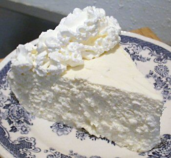 Pinner says -No-Bake Lemon Cheesecake. Made it for Thanksgiving... people who don't eat low carb raved about it.
