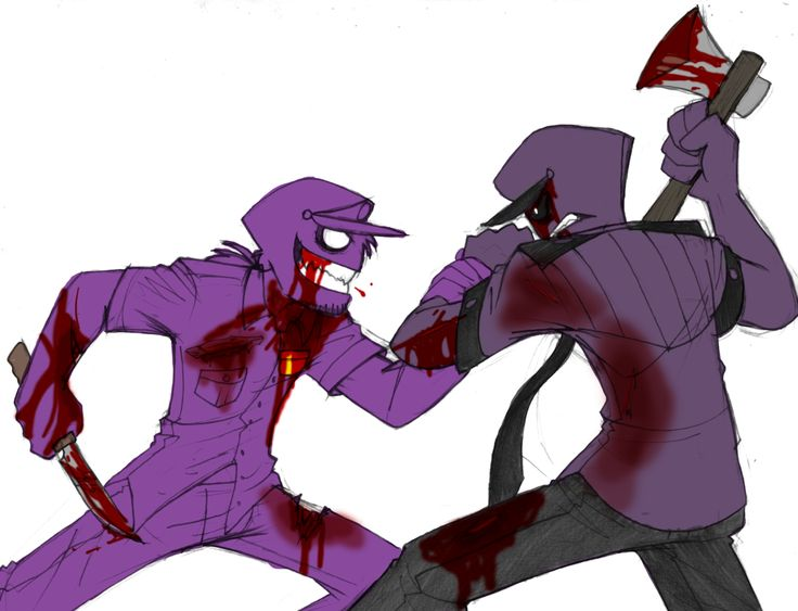 What's better than watching two Purple Guy's fighting each other to the death?Eating watermelon while watching two purple guys fighting each other to the death~.Commission for purple–ponytail~!