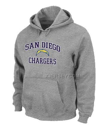 http://www.xjersey.com/san-diego-chargers-heart-soul-pullover-hoodie-grey.html SAN DIEGO CHARGERS HEART & SOUL PULLOVER HOODIE GREY Only $50.00 , Free Shipping!
