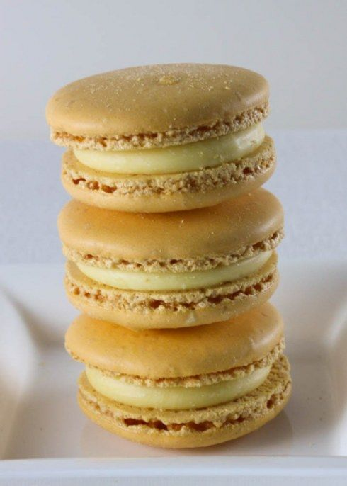 passion fruit macarons - this flavor was my favorite of the ones I had in Paris - would love to recreate it.