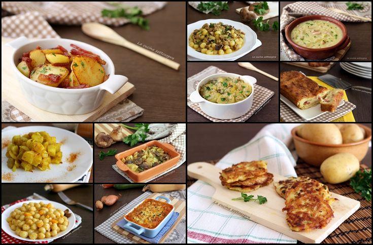 Raccolta+di+ricette+con+le+patate