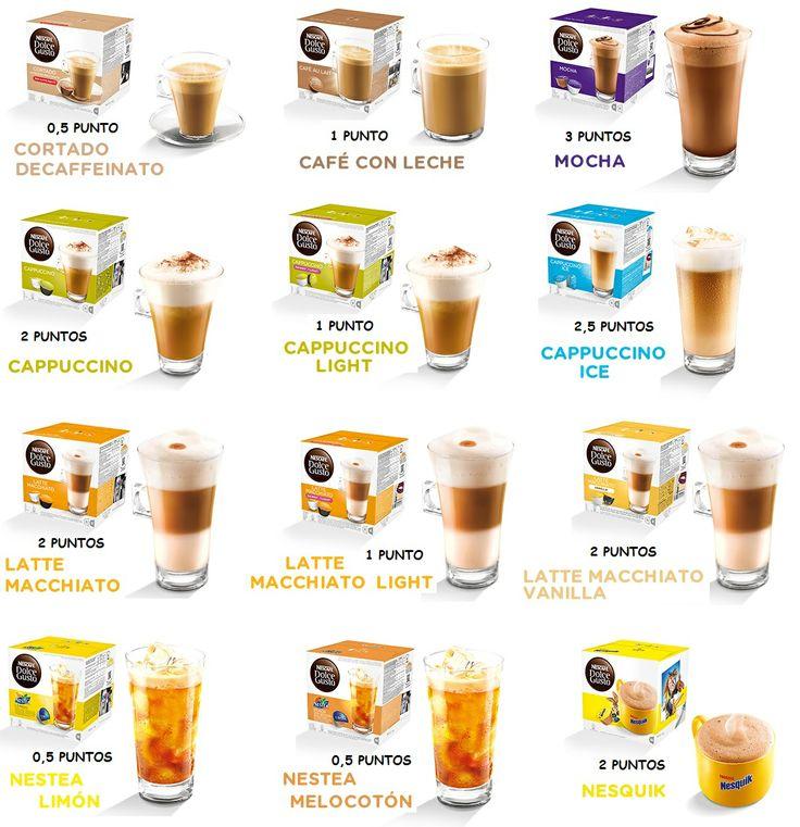 Cafés Dolce Gusto