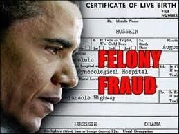 """Lawyers for the Obama Administration announced that Barack Obama's long form birth certificate was a forgery. Under penalty of perjury, the lawyers said they were forced to say that the birth certificate was valid.  A lawyer representing the Obama administration say the birth certificate was knowingly purveyed to fool the American public into believing he was legitimately able to be President. Obama stated at a White House briefing that the birth certificate subject is """"irrelevant""""."""