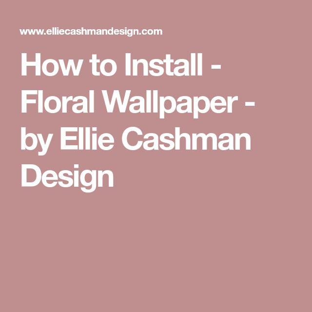 The 25+ best Wallpaper installation ideas on Pinterest | Rv ...