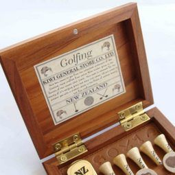 NZ golfing gifts set from New Zealand Showcase