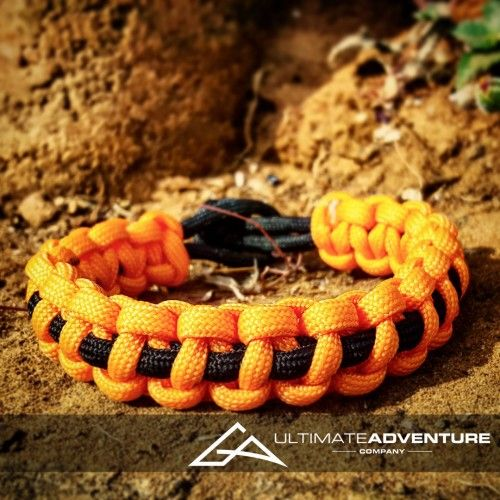 Orange with Black Supporter Band Paracord Survival Bracelet from www.ultimateadventures.co.za  #orange #black #supporterband #supporter #bracelet #paracord #paracord550 #paracordsurvival #paracordsurvivalbracelet #survival #paracordporn #outdoorgear #survivalbracelet #survivalparacord #survivaladventure #edc #everydaycarry #adventure #survivalgear #adventuregear #adventurebracelet #ultimateadventure #ultimateadventureco #ultimateadventures #paracordon #cordcraft #craft #outdoorcraft