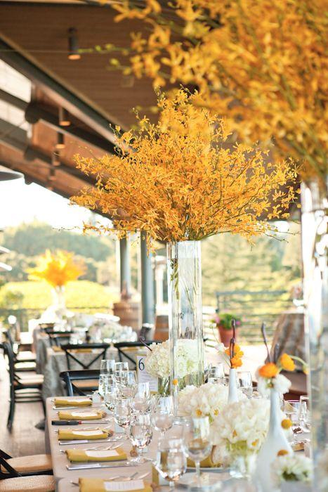 modern centerpieces, event design by everyelegantdetail.com shot by carliestatsky.com/