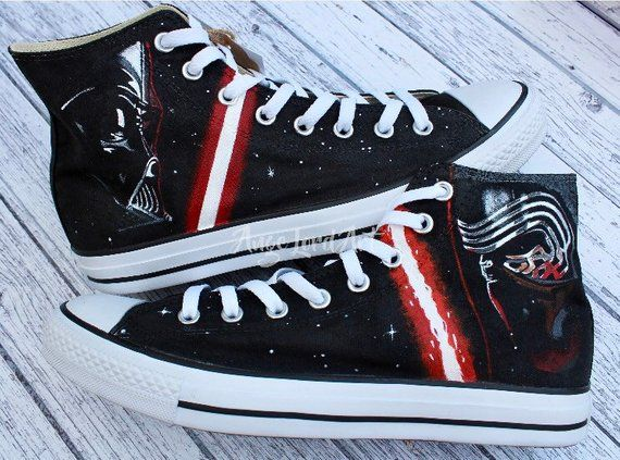 Custom Painted Star Wars Inspired Darth Vader Kylo Ren
