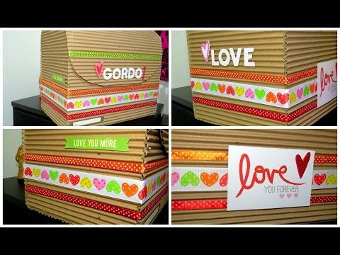 cofre/tesoro regalo para novio-IDEA ♥♥ - YouTube