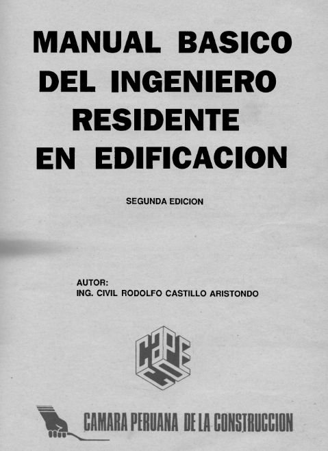 Muro De Soga - Blog de Ingeniería Civil: MANUAL DEL INGENIERO RESIDENTE