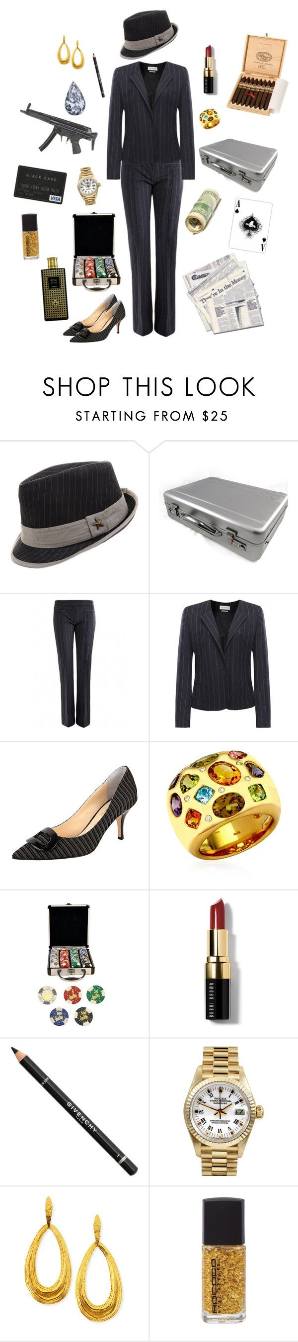 """""""Greed-Seven Deadly Sins"""" by conquistadorofsorts ❤ liked on Polyvore featuring Isabel Marant, Butter Shoes, Kiki mcdonough, Handle, Bobbi Brown Cosmetics, Givenchy, Rolex, Hervé Van Der Straeten, Rococo Sand and Houbigant"""