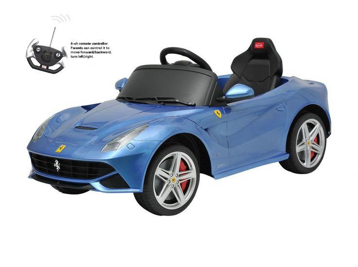 Blue Ferrari F12 Berlinetta Special Edition Remote Control