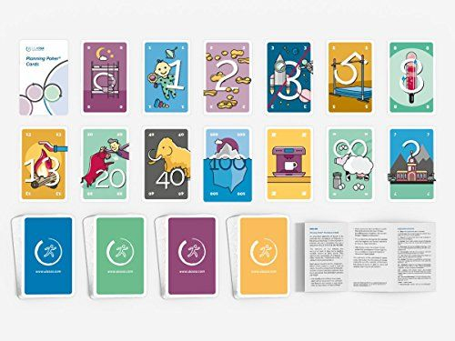 Agile poker planning cards