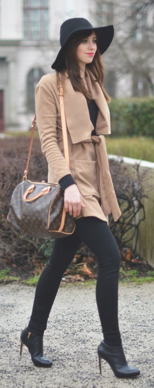 Black And Camel Outfit by Vogue Haus