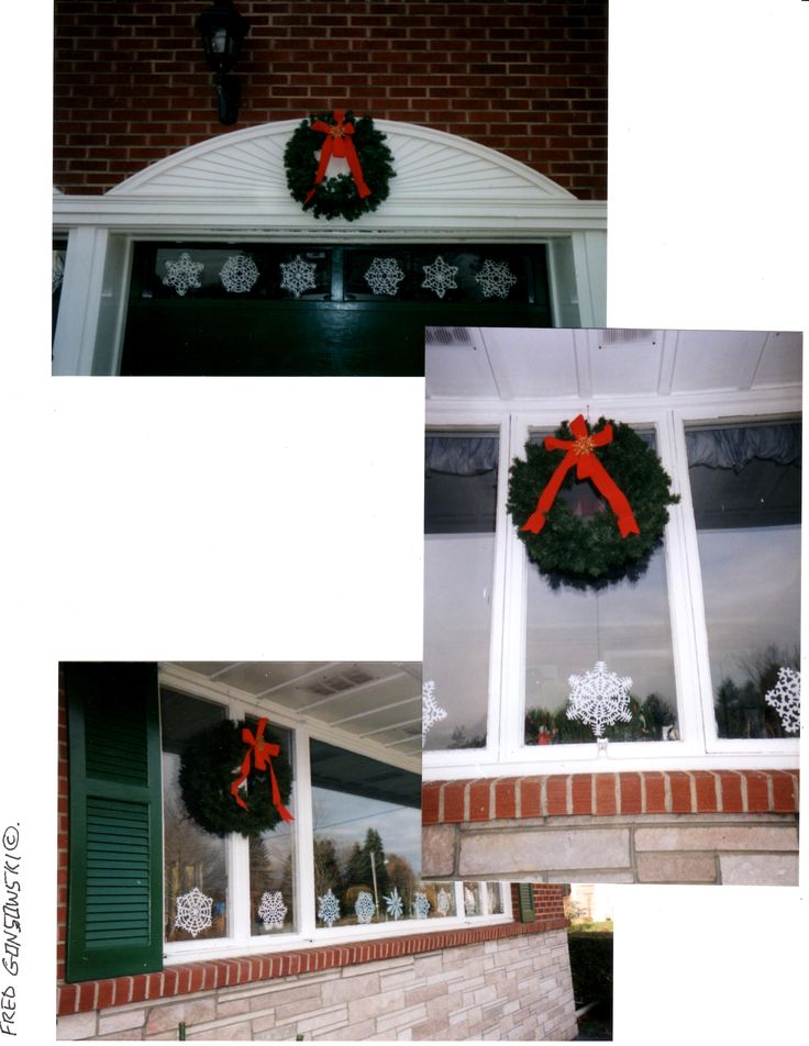 When it comes to making a bow for the Christmas wreath, the easier the better. Over the years I have made many bows for wreaths that decorated my house, homes of relatives, friends, and even wreath…