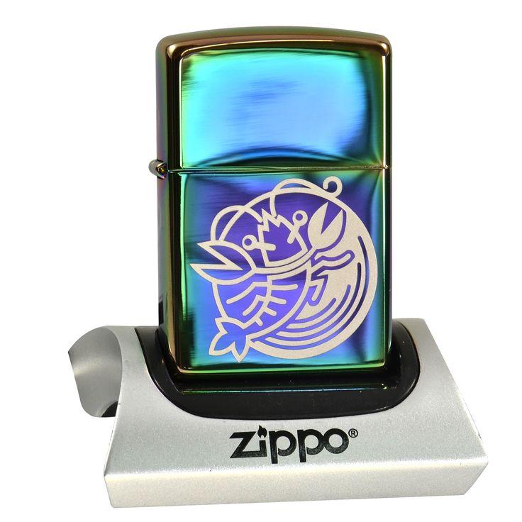 Zippo Spectrum mit Sternzeichengravur