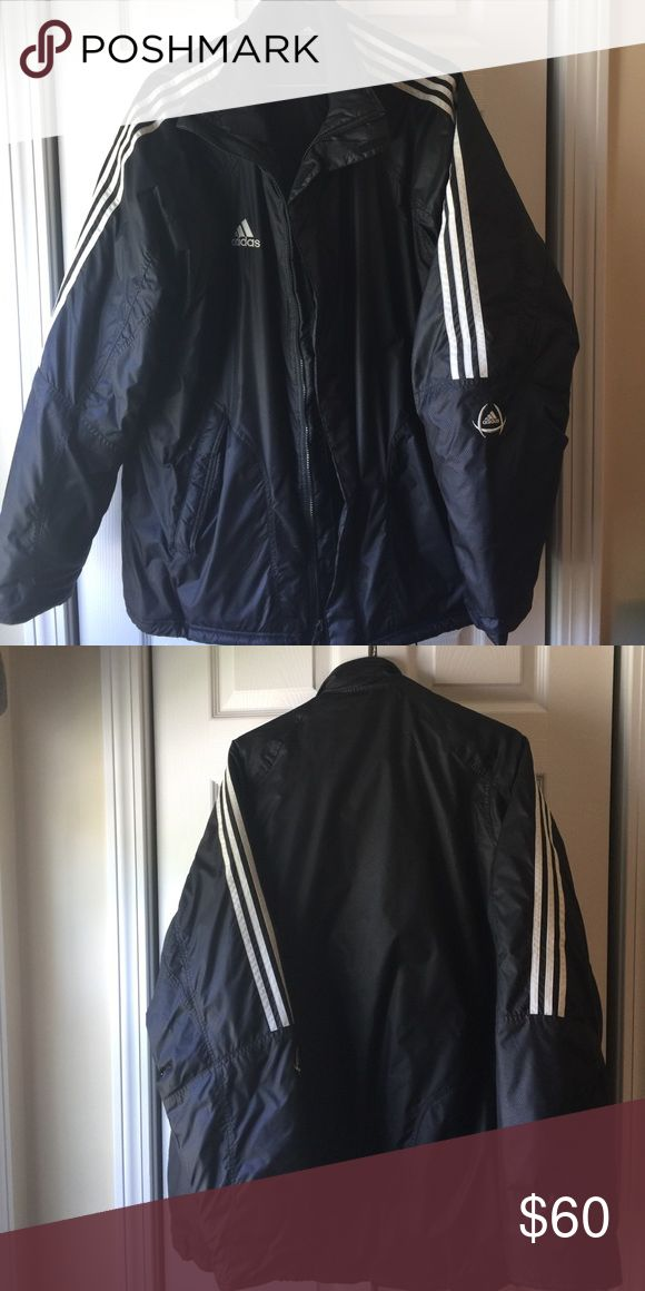 Men's XL adidas water resistance jacket Excellent condition men's extra-large Adidas jacket adidas Jackets & Coats Puffers