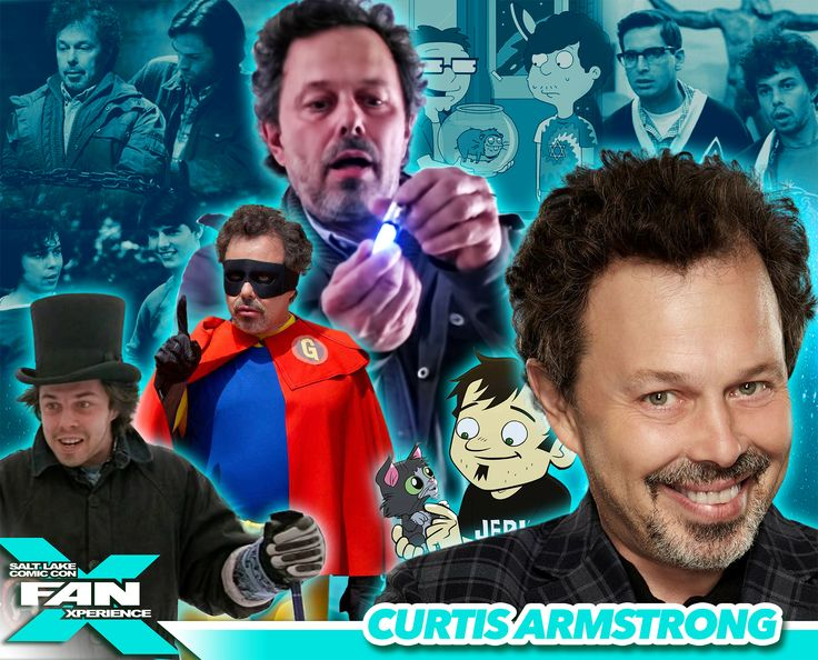 *PIN to WIN* Meet Curtis Armstrong at #FANX16! Best known for Supernatural, Revenge of the Nerds, King of the Nerds. #utah