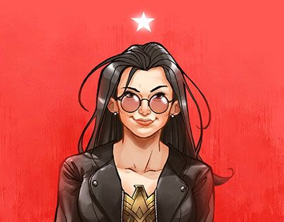 """Check out new work on my @Behance portfolio: """"Diana Prince"""" http://be.net/gallery/53653559/Diana-Prince"""