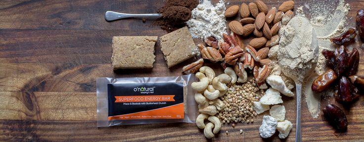 o'natural -maca & baobab bar