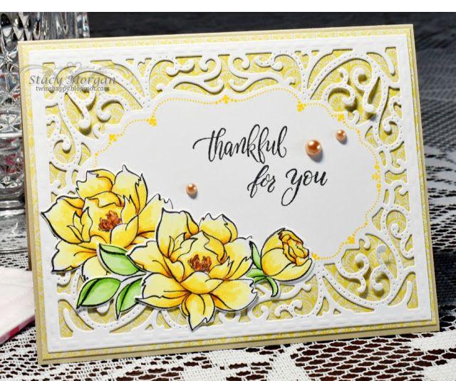 Twinshappy Yellow Flowers Beautiful Handmade Cards Bread Card Cards Handmade