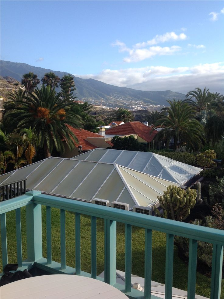 Balcony view from Hacienda san Jorge Los Cancajos La Palma