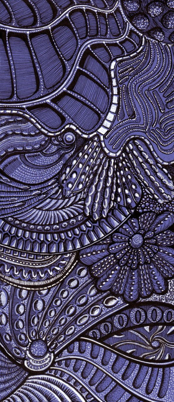 Zentangle Inspiration: Formaniferan Fantasia1 by *Artwyrd on deviantART