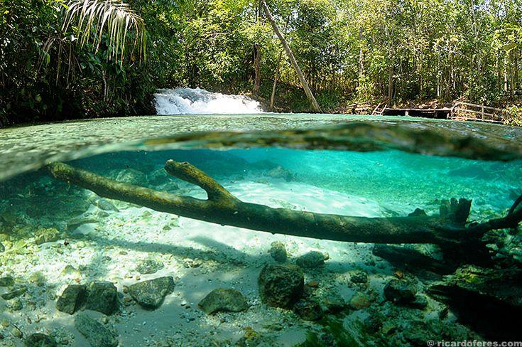 Formiga waterfall, Jalapão, Brazil. More images at http://ricardoferes.com
