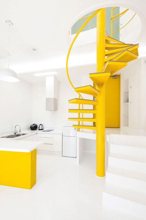 Asymmetric holiday homes by Studio Koossino