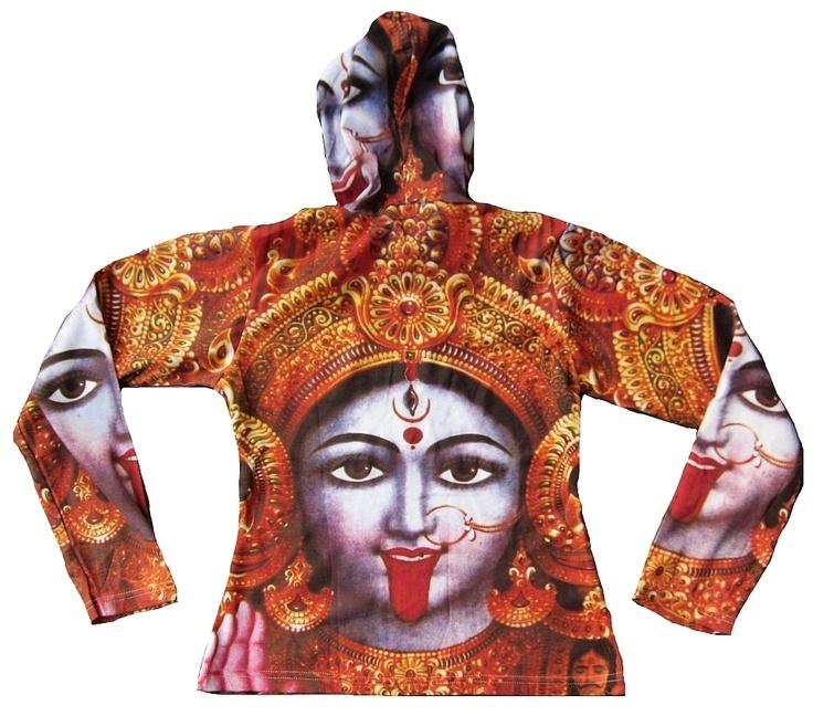 Kali Hindu Colouring P