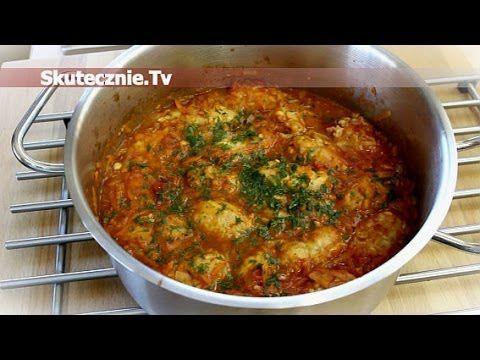 Pulpety z kapustą w sosie pomidorowym z marchwią :: Skutecznie.Tv [HD]