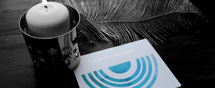 Love Like Red - Hanukkah Greeting Card
