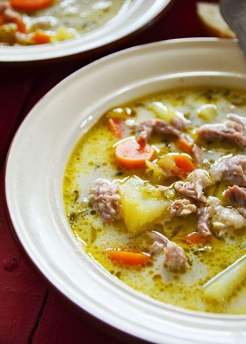 Zupa ogórkowa tradycyjna - etap 7