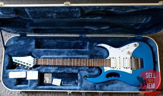 Ibanez Jem 7VSBL In Mint condition at sellmyjem.com