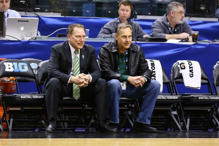 MSU Big Ten Champion Basketball Coach Tom Izzo & MSU Big Ten & Rose Bowl Football Champion Coach Mark Dantonio.