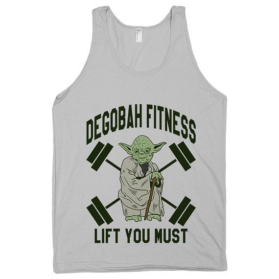 Lift You Must Star Wars Shirt Workout by