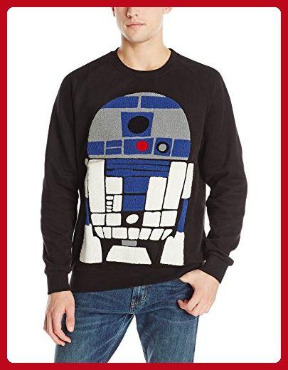Eleven Paris Men's Star Wars Mido R2D2 Sweatshirt, Black, X-Large - Mens world (*Amazon Partner-Link)