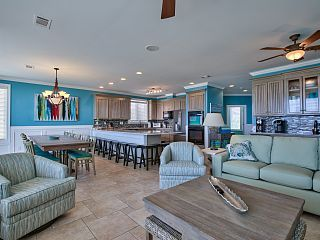 8 Bedroom - Plantation Gulf Front W/pool - 5 King Master Suites - Sleeps 25   Vacation Rental in St. George Island from @homeaway! #vacation #rental #travel #homeaway