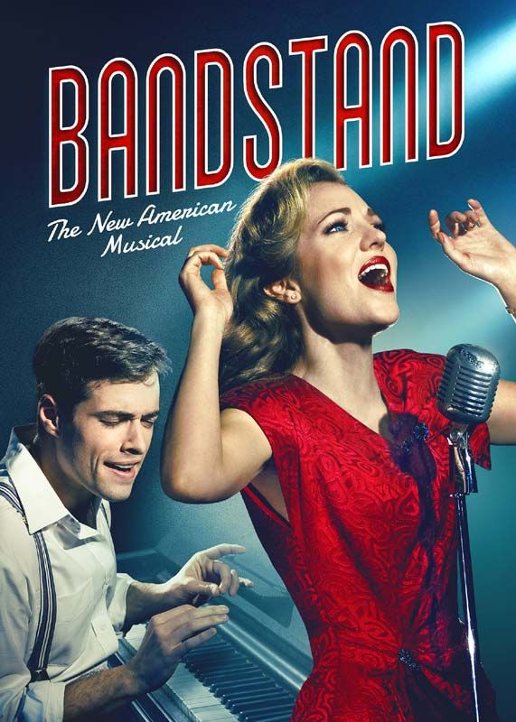 Set in the smoke-filled, swing-fueled night clubs of 1945, Bandstand brings the against-all-odds story of singer/songwriter Donny Novitski and his band of mismatched fellow WWII veterans to the stage. #Broadway #Musicals