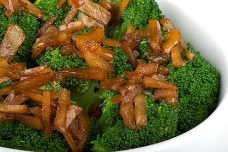 Brocolli and ginger salad  #NewZealand #vegetable #recipes