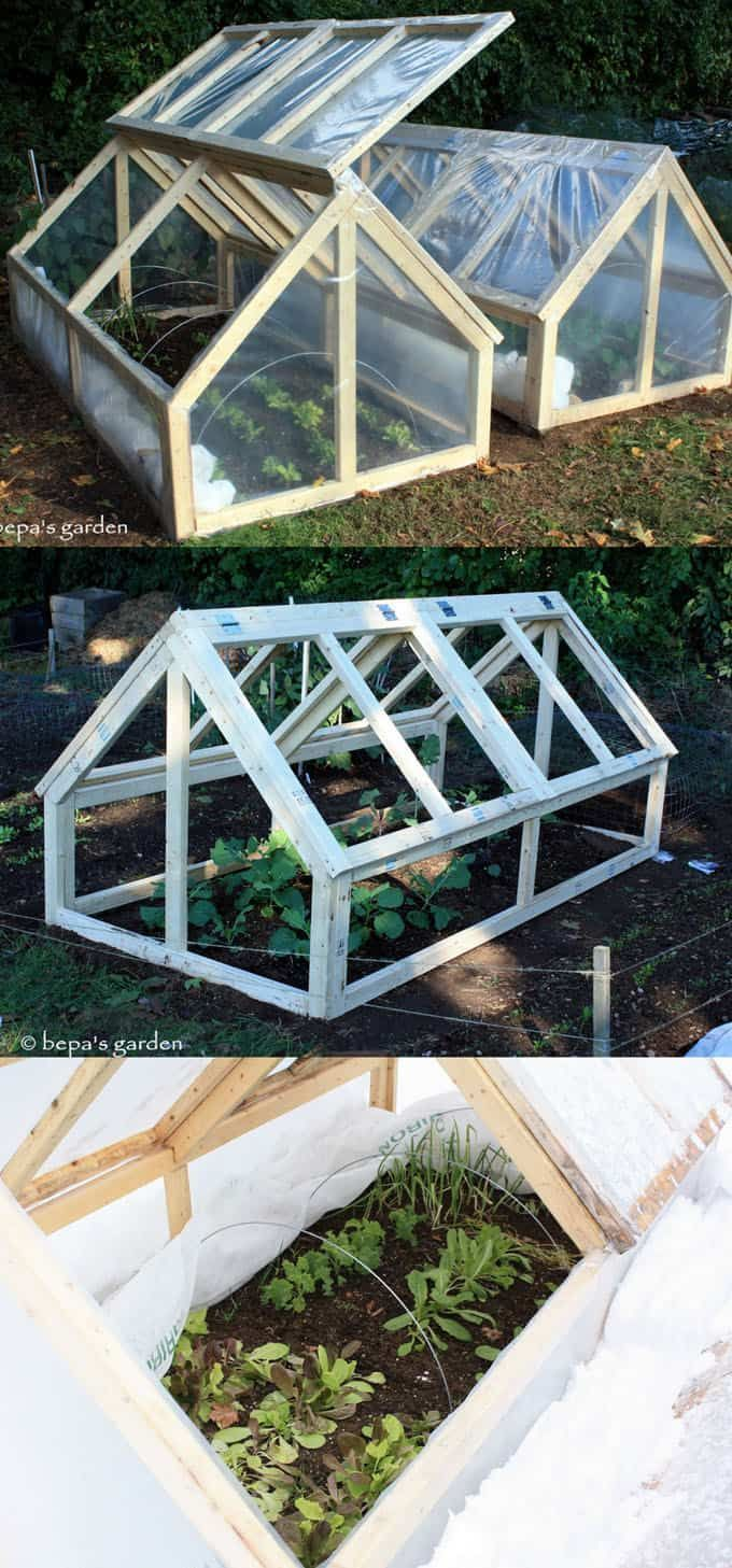 42 Best Diy Greenhouses With Great Tutorials And Plans Diy Great Greenhouses Plans Diy Greenhouse Cold Frame Cold Frame Diy