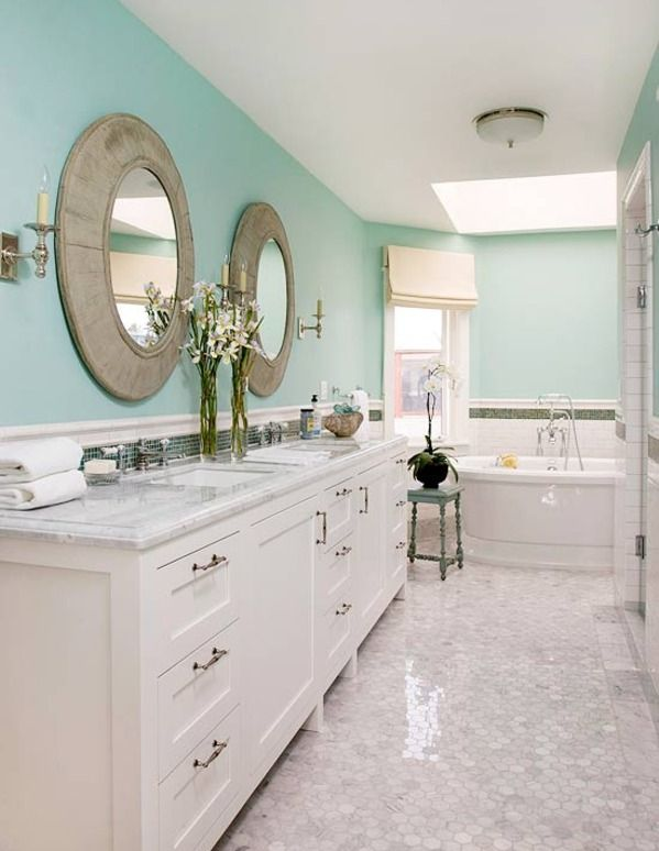 It looks so clean and fresh    just like a bathroom. 1000  images about bathrooms on Pinterest   Starfish  Bathrooms