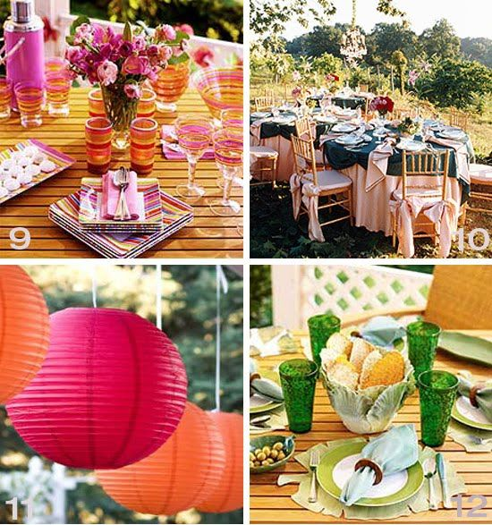 Ideas For Backyard Parties: 17 Best Images About Outdoor Party On Pinterest