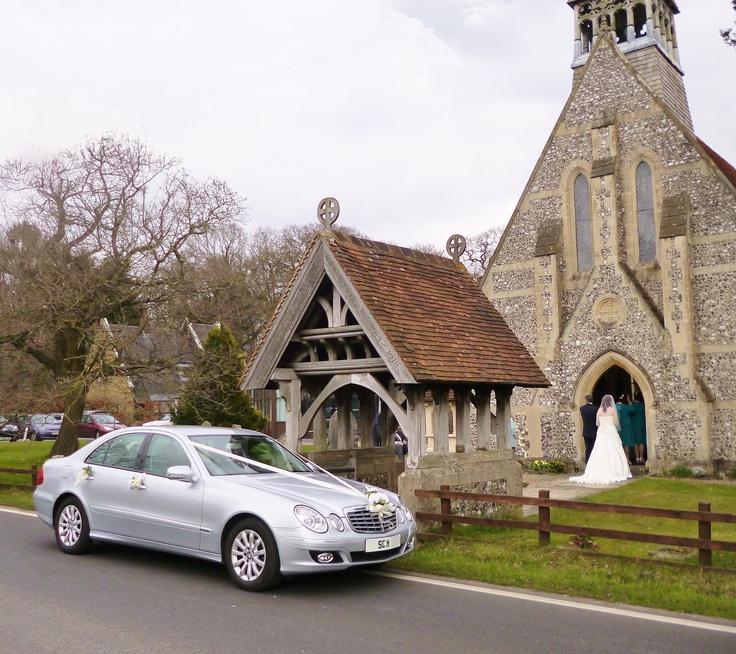Southampton Chauffeur Hire At Colbury Church Wedding Near
