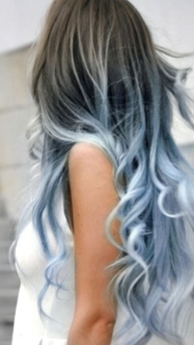 Lexalex Purple Hair Tips Of Color Dyed Hair Tips ...